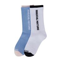 探路者童装新款保暖时尚撞色袜子