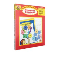 Take it to your seat Phonics Centers K-1 自然拼读 Evan Moor 加州教