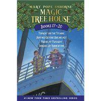 神奇树屋 英文原版 Magic Tree House Volumes 17-20: The Mystery of the