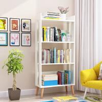 老睢坊 书架落地简约现代简易客厅置物架儿童学生实木组合创意收纳小书柜