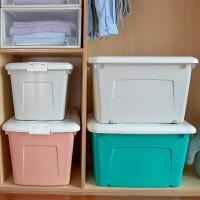收�{箱塑料特大��b衣服整理箱���w特大收�{盒家用衣物�ξ锵涑�大