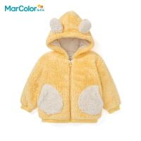 巴拉巴拉旗下马卡乐童装冬新品舒适加厚保暖男女童休闲外套