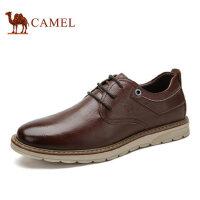 camel骆驼男鞋 休闲皮鞋圆头流行男鞋潮休闲鞋