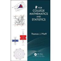 【预订】R For College Mathematics and Statistics 9780367196851