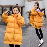 孕后期韩版宽松大码加厚短款棉袄冬季孕妇棉衣外套