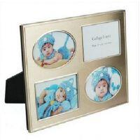 美之良相框 金属拉丝相框 3.5寸组合相框 宝宝相框 A16854