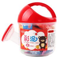 3D彩泥洒水桶装16色橡皮泥儿童手工套装安全儿童玩具