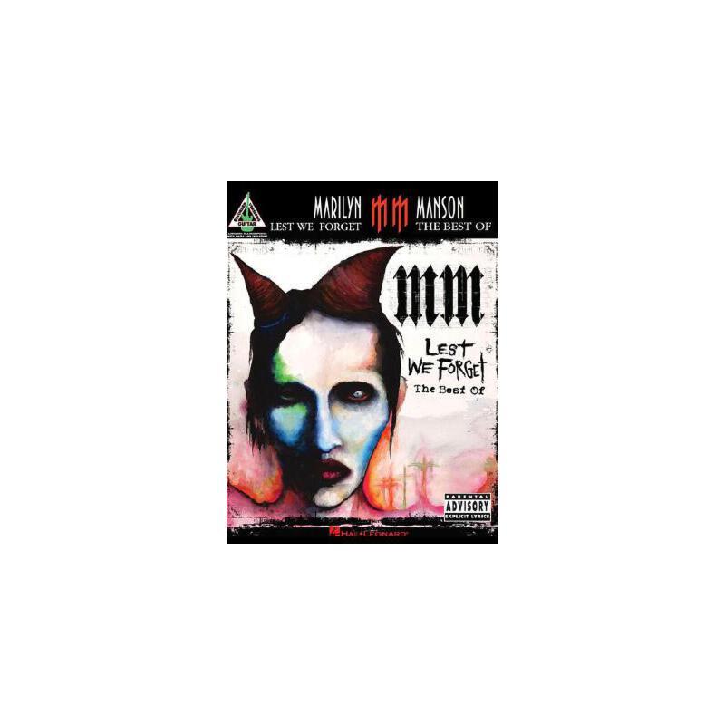 【预订】Marilyn Manson - Lest We Forget: The Best of 预订商品,需要1-3个月发货,非质量问题不接受退换货。