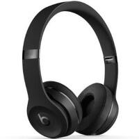 Beats Beats Solo3 Wireless无线蓝牙重低音头戴耳机 磨砂黑