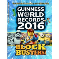 Guinness World Records 2016 Blockbusters【英文原版】吉尼斯世界纪录2016年大