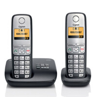 Gigaset|集怡嘉【西门子】C510A套机德国制造无绳电话机带答录通话录音 1拖1