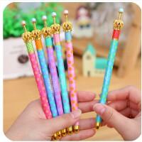 韩国文具 个性创意皇冠笔 中性笔|圆珠笔|自动铅笔 三款可选