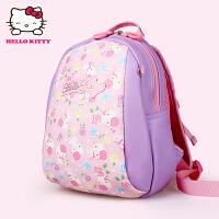 Hello Kitty凯蒂猫 KT1073粉紫 幼儿园书包女3-5岁宝宝背包大班小班儿童书包 当当自营
