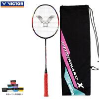 威克多Victor胜利羽毛球拍全碳素单拍 全面型HX-900红色(4U)/HX-900红色(3U)韩国队拍