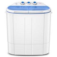 TCL 洗衣机半自动XPB20-Q200 儿童迷你小型洗衣机 宝宝婴儿袜子脱水甩干一体 冰雪蓝
