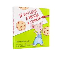 进口英文原版 If You Give a Mouse a Cookie如果你给老鼠一块饼干 4-6岁