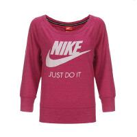 Nike耐克2015秋款女子休闲针织套头衫卫衣678384 CS