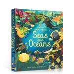 【发顺丰】英文原版 尤斯伯恩看里面系列 Usborne Look Inside Seas and Oceans 海洋
