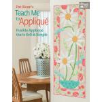 预订 Pat Sloan's Teach Me to Applique: Fusible Applique That'