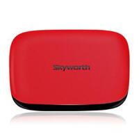 Skyworth/创维 A11四核 运行内存1G 网络电视机顶盒 电视盒子 安卓高清无线硬盘播放器 红色