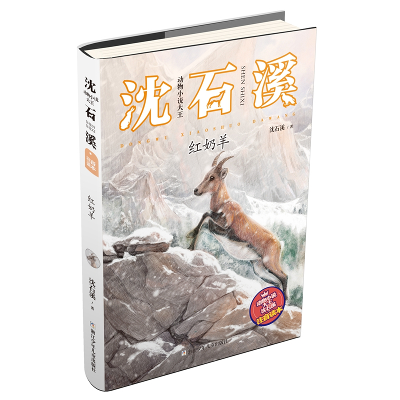 """动物小说大王沈石溪·注音读本:红奶羊 """"动物小说大王""""沈石溪经典作品的注音版"""