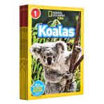 【中商原版】美国国家地理自然与生物Level 1系列10册合集 英文原版 National Geographic Re