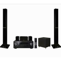 先锋(Pioneer) HTS-C3008 时尚5.1声道分体式家庭影院(S-CH201扬声器) 黑色