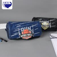 大容量笔袋厂家直销学生创意男生篮球足球笔袋文具盒初中生