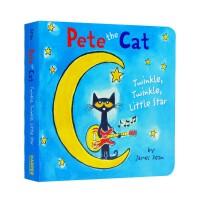 进口英文原版 皮特猫 一闪一闪亮晶晶 满天都是小星星 Pete the Cat: Twinkle, Twinkle, L