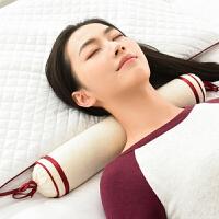颈椎枕头枕芯家用修复专用圆柱荞麦决明子康复护颈枕