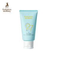 袋鼠妈妈 孕妇身体防晒乳 哺乳怀孕期专用护肤品小麦天然防晒隔离紫外线SPF27 敏感肌可用