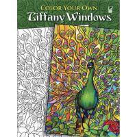 按需印刷 Color Your Own Tiffany Windows