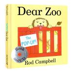 The Pop-up Dear Zoo (Book & CD)  翻翻书