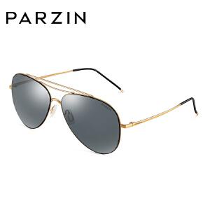 帕森时尚偏光太阳镜男士金属大框尼龙镜片蛤蟆镜潮女墨镜8171