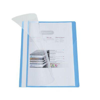 齐心COMIX LW320 A4 2孔 装订报告夹/文件夹 LW320打孔装订夹蓝色 全场满50元包邮,新疆西藏除外