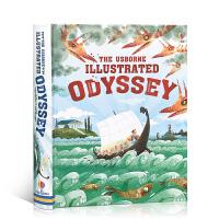 【顺丰速运】英文原版 The Usborne Illustrated Odyssey 经典儿童文学系列:奥德赛 全彩插