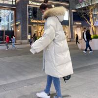 秋冬季羽绒孕后期韩版宽松中长款大码棉袄孕妇棉衣冬装外套