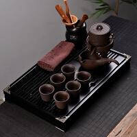 家用简约泡茶石磨半全自动冲茶器茶盘整套功夫茶杯茶具套装