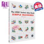 【中商原版】乐高创意搭建指南:简单机器 机械篇 英文原版 LEGO Technic Idea Book: Simple