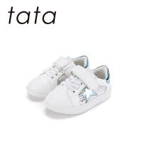 【139元任选2双】他她tata童鞋女童宝宝鞋男孩婴幼童休闲板鞋