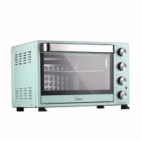 【送一次性医用口罩20片】美的(Midea)多功能电烤箱 机械式操控 上下独立控温 专业烘焙易操作烘烤蛋糕面包 PT3