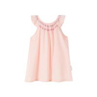 全棉时代婴儿梭织无袖连衣裙