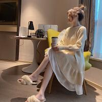 孕妇冬装洋气外穿打底衫2020时尚新款连衣裙孕妇秋冬装毛衣