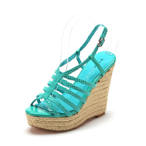 【3折到手价128.7元】D:Fuse/迪芙斯夏季新款牛皮简约露趾高跟凉鞋女鞋DF42110065