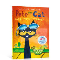 酷的猫咪皮特猫系列 Pete the Cat and His Magic Sunglasses 皮特猫和他的魔术的太阳