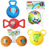 【当当自营】费雪(Fisher Price)儿童玩具球(认知球12片+摇铃球蓝色+哑铃球黄色+糖果球红色+拉拉球黄色)