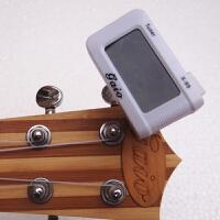 民谣吉他调音器 尤克里里吉他校音器吉他配件 调音器 贝斯调音器 白色调音器