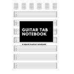 预订 Guitar Tab Notebook: A blank musical notebook for compos