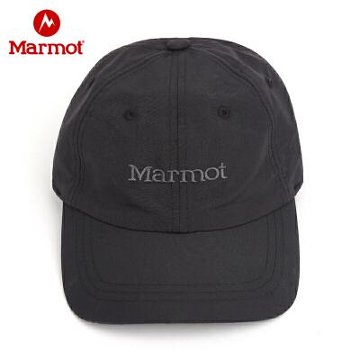 Marmot/土拨鼠春夏新款户外运动吸湿快干男女情侣通用速干棒球帽 VIP专享96折