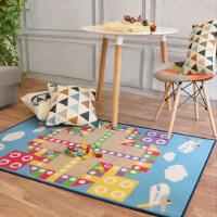 艾虎婴儿卧室客厅爬爬垫 儿童宝宝益智卧室爬行游戏地毯